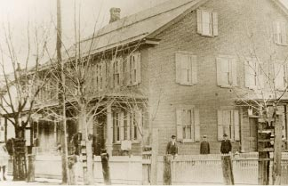 The Old Country Store Was The First Store Built In The Town In 1833 The Store Is Shown Here In 1910 When It Was Owned And Operated By The Eaby Family
